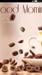 Good Morning CLauncher Android Mobile Phone Theme