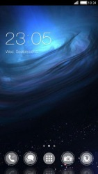 Ocean CLauncher Android Mobile Phone Theme