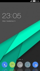 Material Design CLauncher Android Mobile Phone Theme