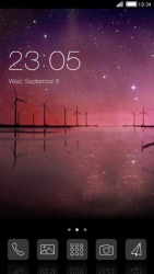 Evening CLauncher Android Mobile Phone Theme