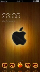 Apple CLauncher Android Mobile Phone Theme
