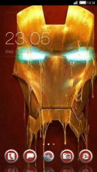 Ironman CLauncher Android Mobile Phone Theme