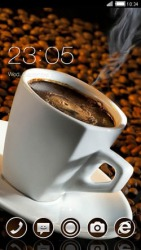 Coffee CLauncher Android Mobile Phone Theme