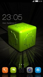 Android Cube CLauncher Android Mobile Phone Theme
