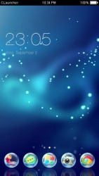 Glitter CLauncher Android Mobile Phone Theme