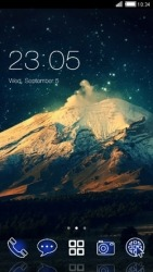 Mountain CLauncher Android Mobile Phone Theme