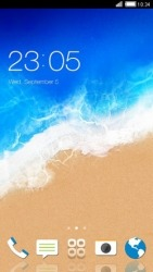 Sea Shore CLauncher Android Mobile Phone Theme