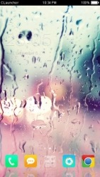 Rain Drops CLauncher Android Mobile Phone Theme