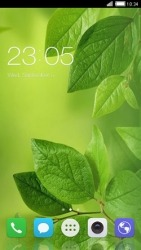 Leaf CLauncher Android Mobile Phone Theme