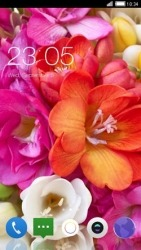 Flowers CLauncher Android Mobile Phone Theme