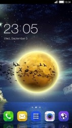 Moon CLauncher Android Mobile Phone Theme