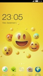 Emoji CLauncher Android Mobile Phone Theme