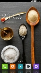 Ingredients CLauncher Android Mobile Phone Theme
