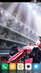 Formula One CLauncher Android Mobile Phone Theme
