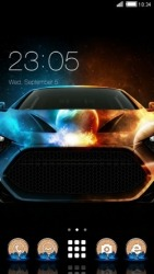 Turbo CLauncher Android Mobile Phone Theme