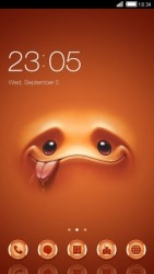 Cute Face CLauncher Android Mobile Phone Theme