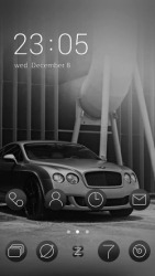 Bentley Motors CLauncher Android Mobile Phone Theme