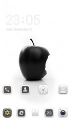 Real Apple CLauncher Android Mobile Phone Theme