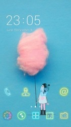 Cotton Candy CLauncher Android Mobile Phone Theme