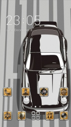 Racing Car CLauncher Android Mobile Phone Theme