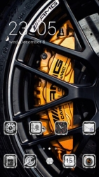 Wheel CLauncher Android Mobile Phone Theme