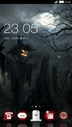 Halloween CLauncher Android Mobile Phone Theme
