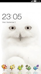 White Owl CLauncher Android Mobile Phone Theme