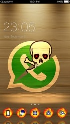 Social Devil CLauncher Android Mobile Phone Theme