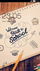 Back To School CLauncher Android Mobile Phone Theme
