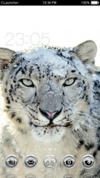 Snow Leopard CLauncher Android Mobile Phone Theme