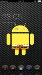 Spongedroid CLauncher Android Mobile Phone Theme