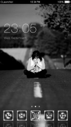 Alone CLauncher Android Mobile Phone Theme