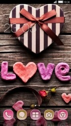 Love Gift CLauncher Android Mobile Phone Theme