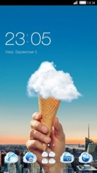 Cloud Cone CLauncher Android Mobile Phone Theme