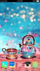 Tea CLauncher Android Mobile Phone Theme