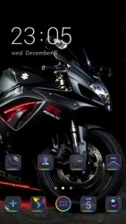 Bike CLauncher Android Mobile Phone Theme