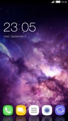 Purple Sky CLauncher Android Mobile Phone Theme