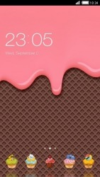 Ice Cream CLauncher Android Mobile Phone Theme