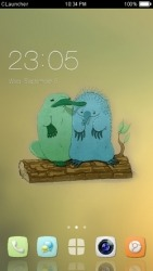 Cute Platypus CLauncher Android Mobile Phone Theme