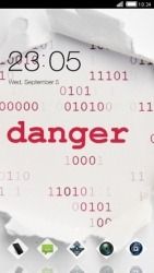 Danger CLauncher Android Mobile Phone Theme