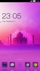Taj Mahal CLauncher Android Mobile Phone Theme