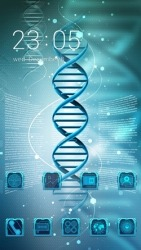 DNA CLauncher Android Mobile Phone Theme