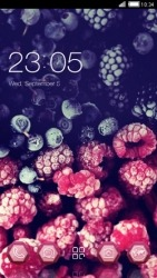 Blueberry CLauncher Android Mobile Phone Theme