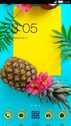 Summer CLauncher Android Mobile Phone Theme