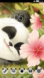 Cute Panda CLauncher Android Mobile Phone Theme