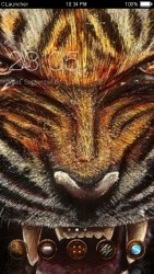 Angry Tiger CLauncher Android Mobile Phone Theme