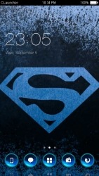 Superman CLauncher Android Mobile Phone Theme