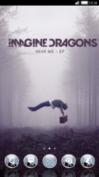 Imagine Dragons CLauncher Android Mobile Phone Theme
