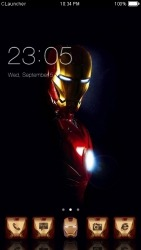 Iron Man CLauncher Android Mobile Phone Theme
