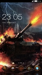 War Of Tanks CLauncher Android Mobile Phone Theme